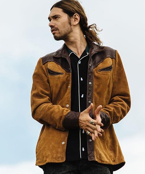 【glamb(グラム)】Western leather JKT-ウエスタンレザージャケット(GB0418-JKT05)