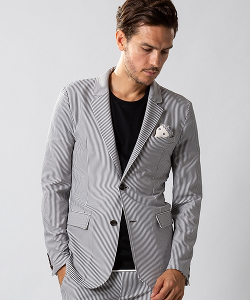 【wjk】4way seersucker jacket ジャケット(2935 cf40m)