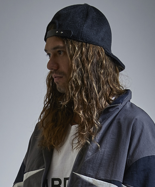 【EGO TRIPPING(エゴトリッピング)】CASHMERE WOOL CYCLINGCAP キャップ(693356)