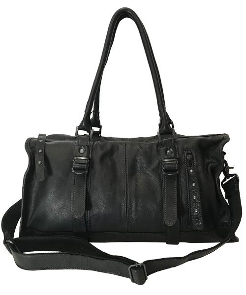 【DECADE(ディケイド)】【予約販売ご注文から1週間後出荷】Oiled Cow Leather Boston Bag ボストンバッグ(DCD-00019)