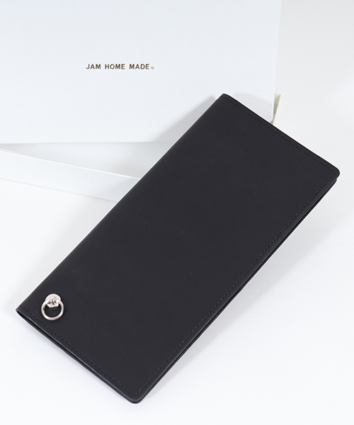 【JAM HOME MADE(ジャムホームメイド)】SLIM LONG WALLET 財布(JNS872BK)