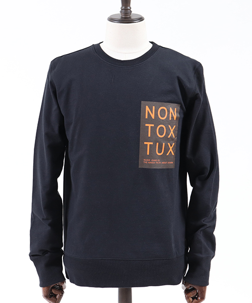 【Nudie Jeans(ヌーディージーンズ)】EVERT NON TOX TCX ロンT(150367)