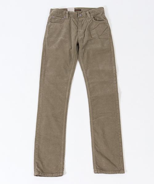 【Nudie Jeans(ヌーディージーンズ)】THIN FINN917 VELVET DESERT パンツ(112876032)
