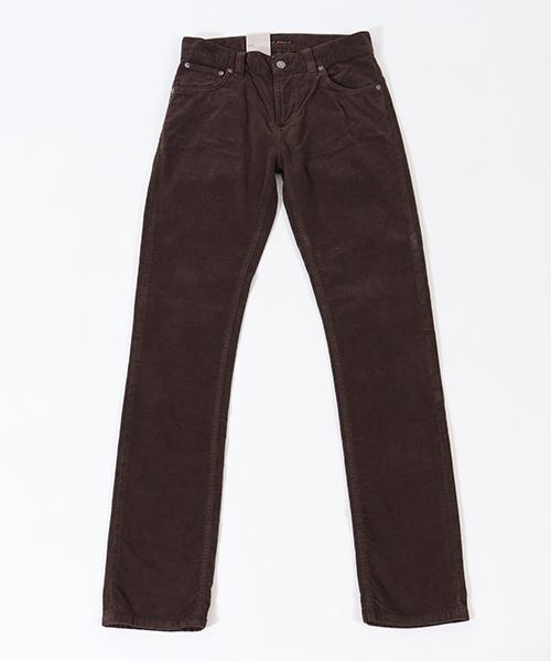 【Nudie Jeans(ヌーディージーンズ)】THIN FINN916 VELVET CHOKO パンツ(112875032)