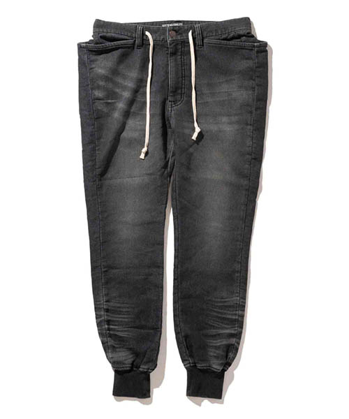 【glamb(グラム)】【予約販売11月下旬~12月上旬入荷】Conrad knit denim-コンラッドニットデニム- パンツ(GB0418-P09)
