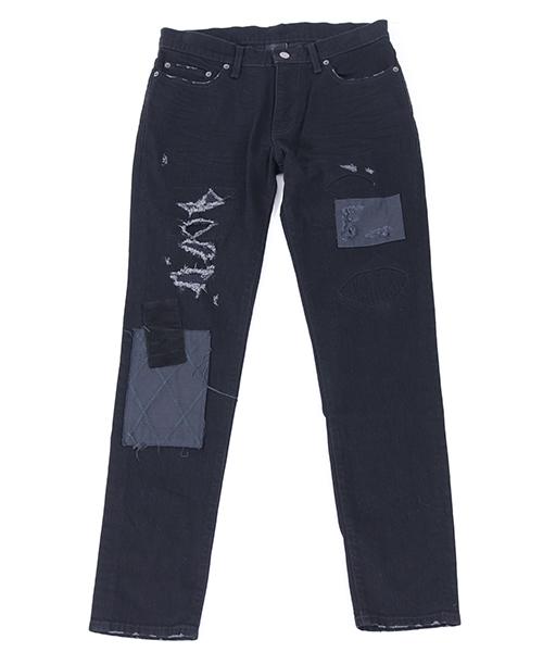 【AKM】PATCHWORK 5POCKET パンツ(P189-CNU108)