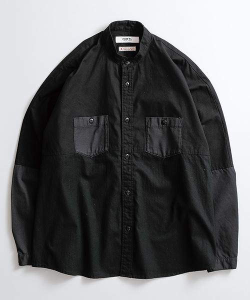 【FDMTL(ファンダメンタル)】OVERSIZE SHIRT シャツ(FA19-SH14)
