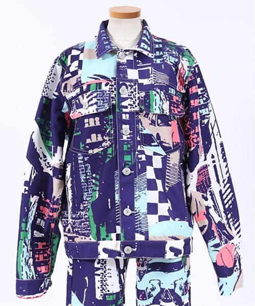 【JOY RICH(ジョイリッチ)】West Division Jacket ジャケット(1840100101)