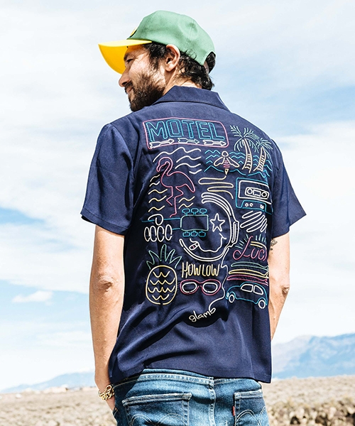 【glamb(グラム)】The Psychedelica SH-ザサイケデリカシャツ(GB0119-SH08)