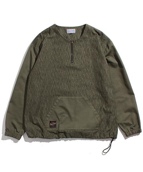 【ROTAR(ローター)】Rain Camouflage pullover プルオーバー(rt1914006)