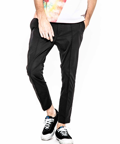 【ACANTHUS(アカンサス)】【予約販売3月上旬~中旬入荷】stretch polyester tight pants パンツ(JKP1902)