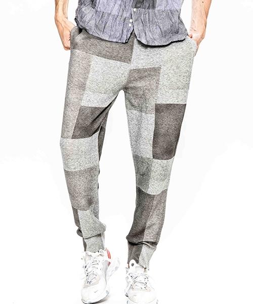 【ACANTHUS(アカンサス)】patchwork hand dyesweat pants スウェットパンツ(HJP1902L)