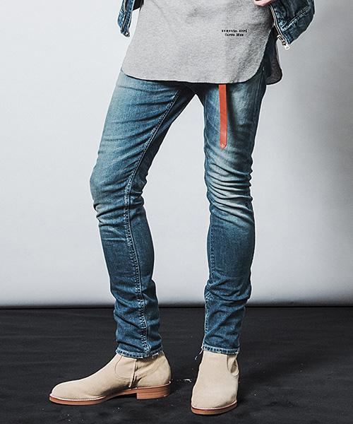 【CHORD NUMBER EIGHT(コードナンバーエイト)】OLIVER DENIM PANTS オリバーデニムパンツ(N8M1K1-PT01)