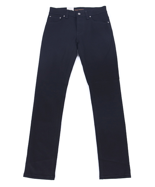 【Nudie Jeans(ヌーディージーンズ)】GRIM TIM470 DRY COLD BLACK デニムパンツ(112302032)