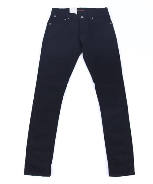 【Nudie Jeans(ヌーディージーンズ)】TIGHT TERRY787 DEEP BLACK デニムパンツ(112451032)