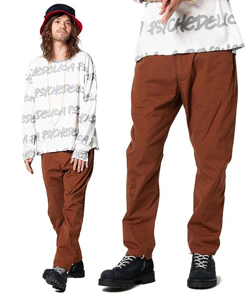 【glamb(グラム)】Poly chino pants-ポリーチノパンツ(GB0119-P07)