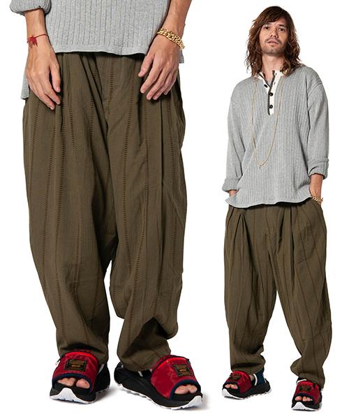 【glamb(グラム)】【予約販売4月上旬~中旬入荷】Billy stripe pants-ビリーストライプパンツ(GB0119-P08)