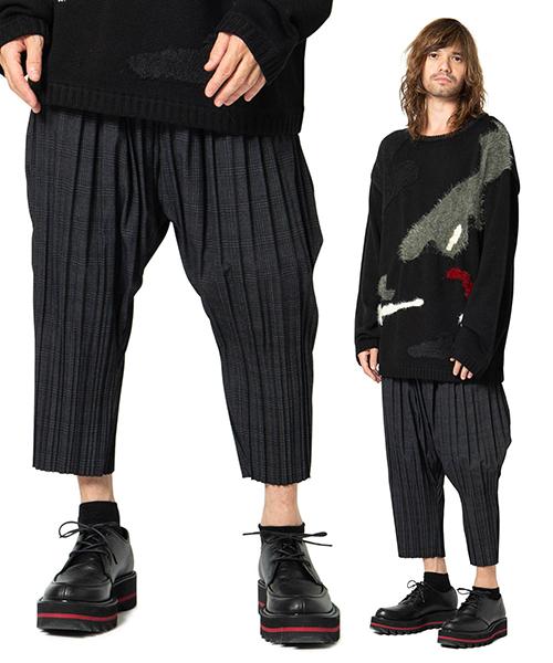 【glamb(グラム)】【予約販売3月上旬~中旬入荷】Pleats easy pants-プリーツイージーパンツ(GB0119-P10)