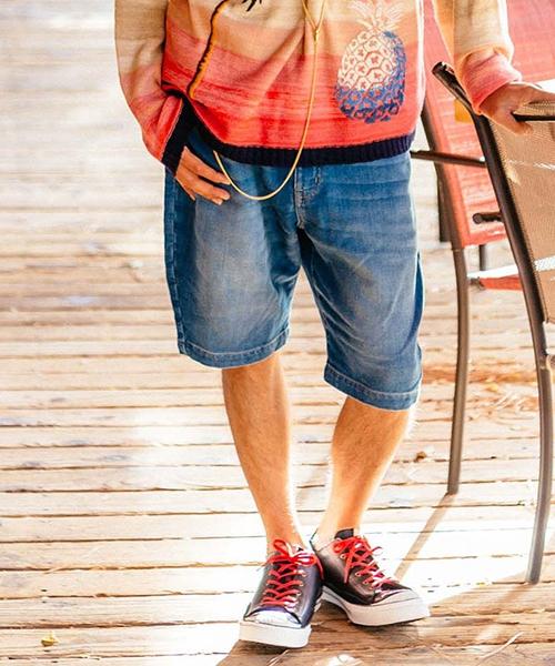 【glamb(グラム)】【予約販売4月下旬~5月上旬入荷】Cornell shorts-コーネルショーツ(GB0119-P15)