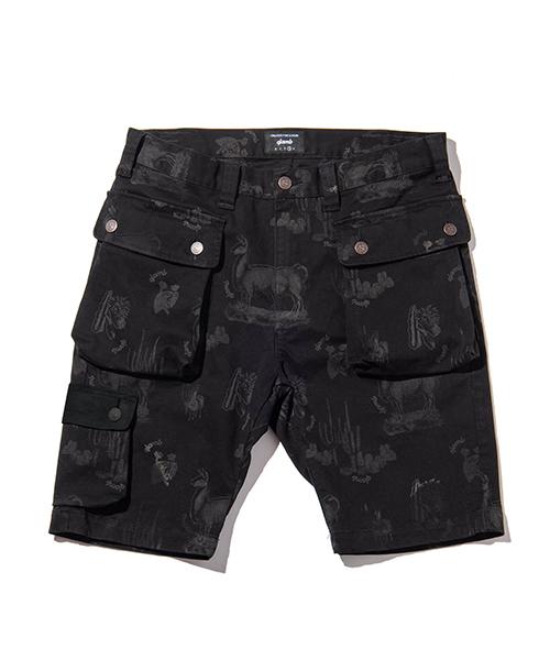 【glamb(グラム)】Pedro siglo shorts-ペドロシグロショーツ(GB0119-P18)