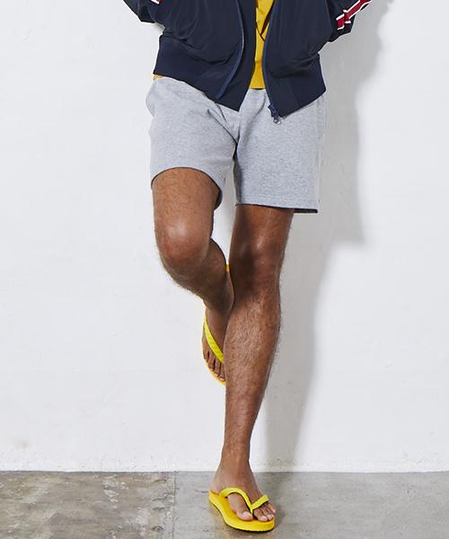 【daboro(ダボロ)】star×moon sweat shorts スウェットショーツ(DPN061)