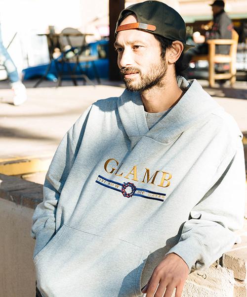 【glamb(グラム)】【予約販売1月下旬~2月上旬入荷】Karl hoodie-カールフーディ(GB0119-CS14)