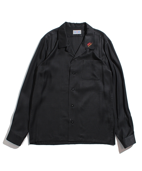 【ROTAR(ローター)】Rayon open collar shirt シャツ(rt1914010)