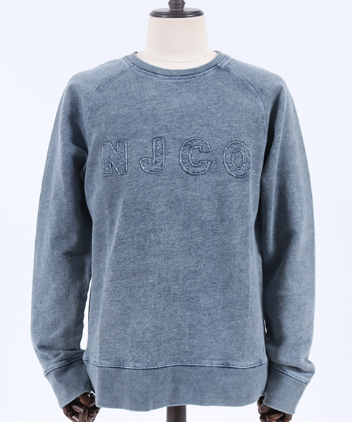 【Nudie Jeans(ヌーディージーンズ)】SAMUEL NJCO PATCHED スウェット(150369)