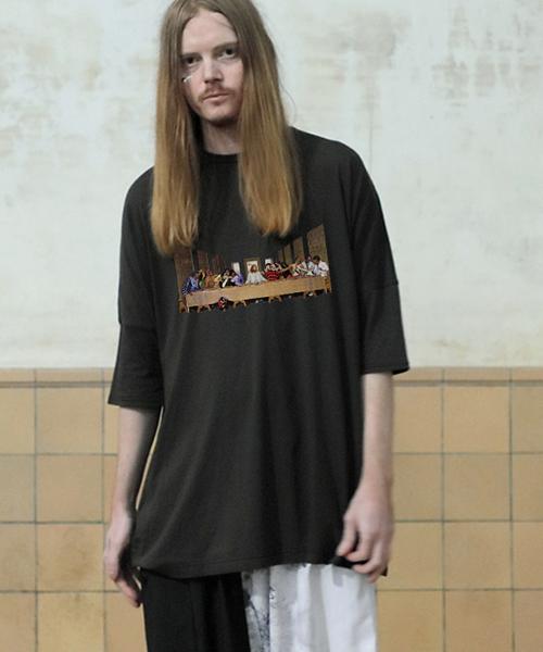 【STOF(ストフ)】【予約販売4月中旬~下旬入荷】LASTビッグシュマグTシャツ(SF19SS-34)