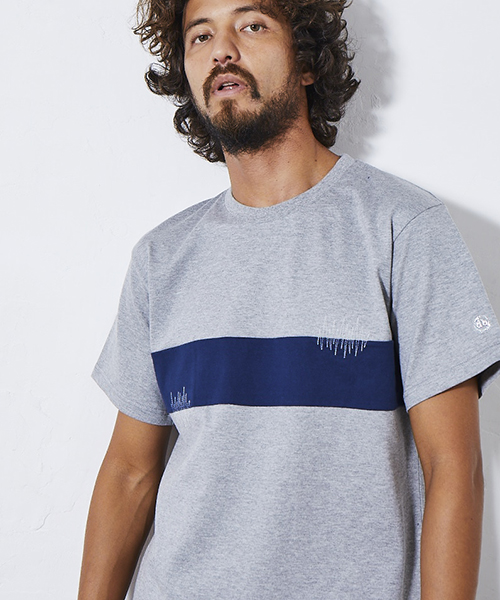 【daboro(ダボロ)】stitch big tee Tシャツ(DTS054)