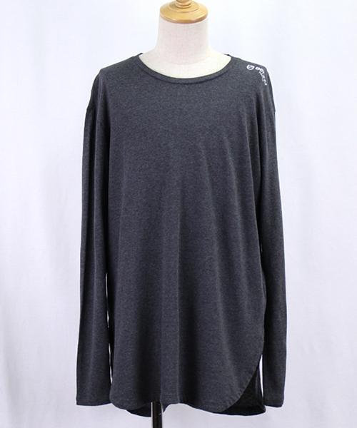 【Bennu(ヴェンヌ)】【予約販売2月中旬~下旬入荷】BTロゴ ラウンドLS-T Tシャツ(120710108)