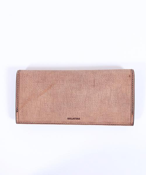 【SOLATINA(ソラチナ)】イタリアンCOWレザーロングウォレット財布(SW-70011)