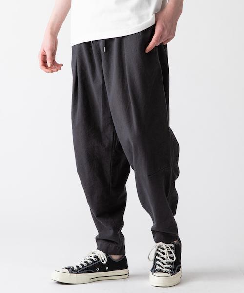 【rehacer(レアセル)】東炊きEasy Drape Tapered Pants テーパードパンツ(01190500009)