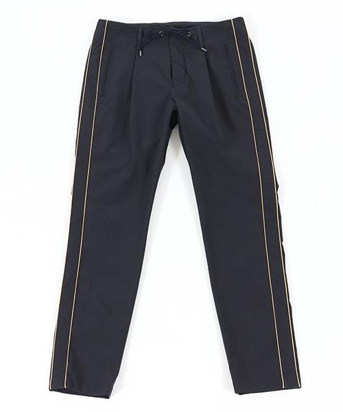 【junhashimoto(ジュンハシモト)】SIDE STRIPE PANTS パンツ(1071910002)