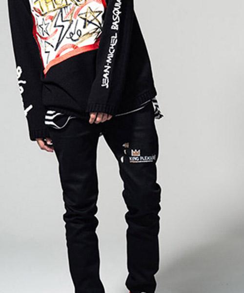 【glamb(グラム)】Basquiat denim バスキアデニム(GB15ANV-BQ10)