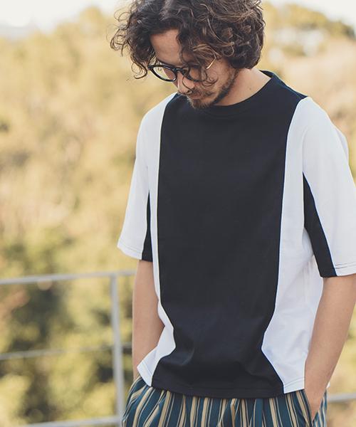 【ANGENEHM(アンゲネーム)】Flip Big Tee(MADE IN JAPAN) Tシャツ(ANG9-025)