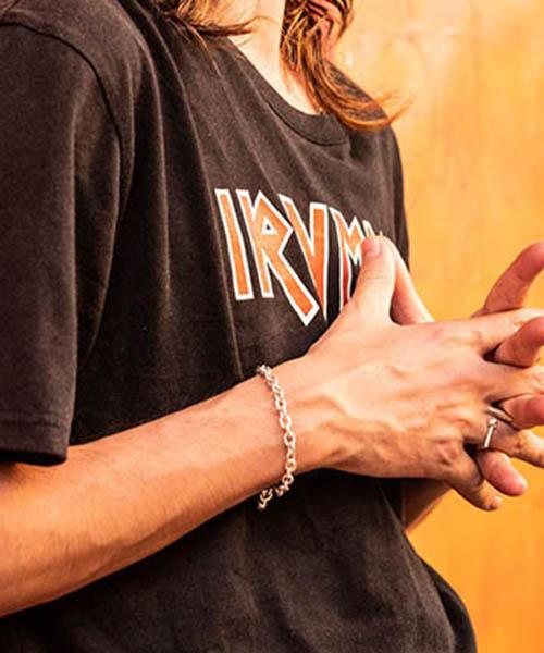 【glamb(グラム)】【予約販売7月下~8月上旬入荷】 Bone bracelet ボーンブレスレット(GB0219-AC21)