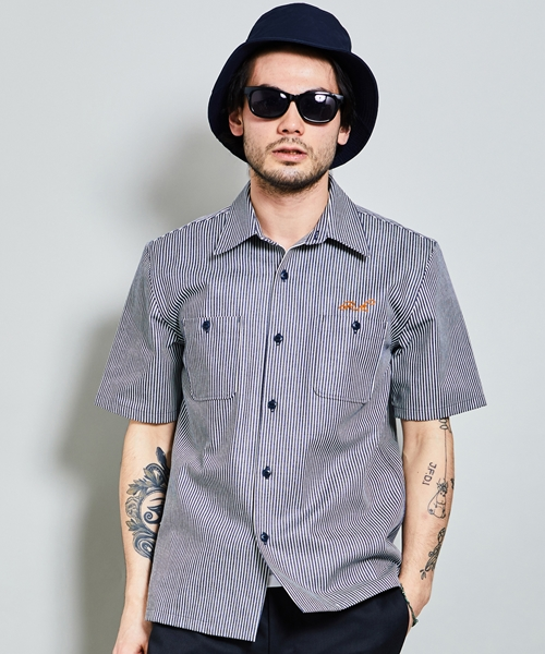 【ROTAR(ローター)】【予約販売5月下旬~6月上旬入荷】Hickory work shirt シャツ(rt1934017)