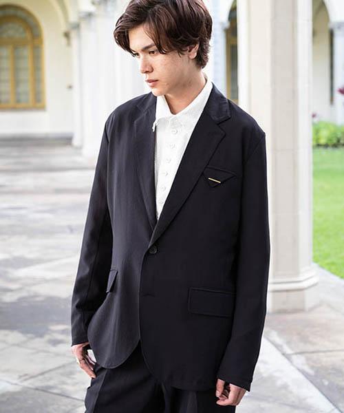 【glamb(グラム)】【予約販売4月下~5月上旬入荷】 Fabrica easy tailored JKT ファブリカイージーテーラードジャケット(GB0219-JKT04)