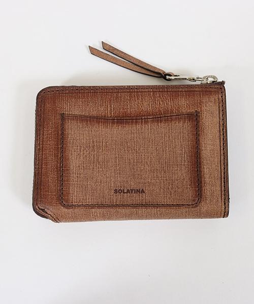 【SOLATINA(ソラチナ)】イタリアンレザーL字ファスナー短財布(SW-70012)