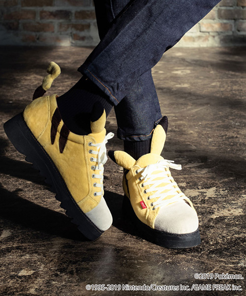 【glamb(グラム)】【予約販売5月下旬~6月上旬入荷】Pikachu sneakers ピカチュウスニーカー(GB0119-PK20)
