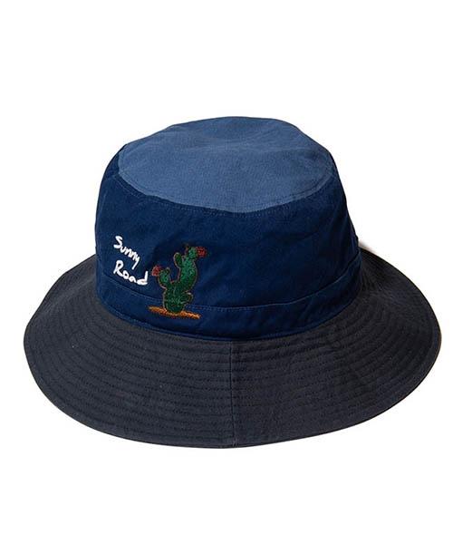 【glamb(グラム)】【予約販売5月下~6月上旬入荷】 Sunny Road bucket hat サニーロードバケットハット(GB0219-CP01)