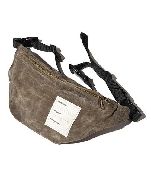 【glamb(グラム)】【予約販売5月下~6月上旬入荷】 Paraffin waist pouch パラフィンウエストポーチ(GB0219-AC09)