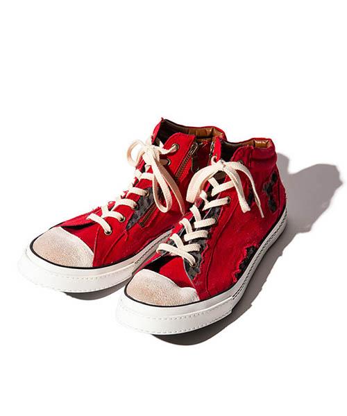 【glamb(グラム)】【予約販売6月上~中旬入荷】 Grunge sneakers グランジスニーカー(GB0219-AC10)