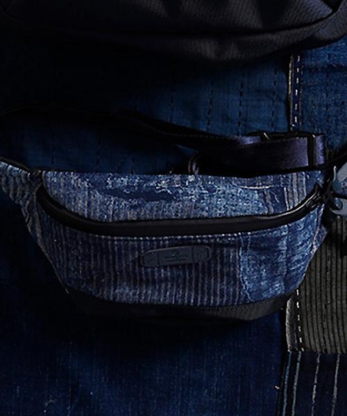 【FDMTL(ファンダメンタル)】【予約販売7月下旬~8月上旬入荷】master-piece BORO WAIST BAG ウエストバッグ(FA19-MS31)