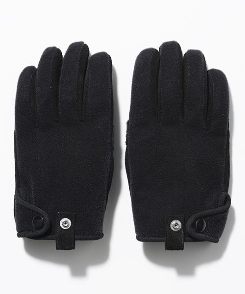 【SEVESKIG(セヴシグ)】【予約販売9月入荷予定】FRENCH PILE GLOVES 手袋(AC-SV-KA-1013)