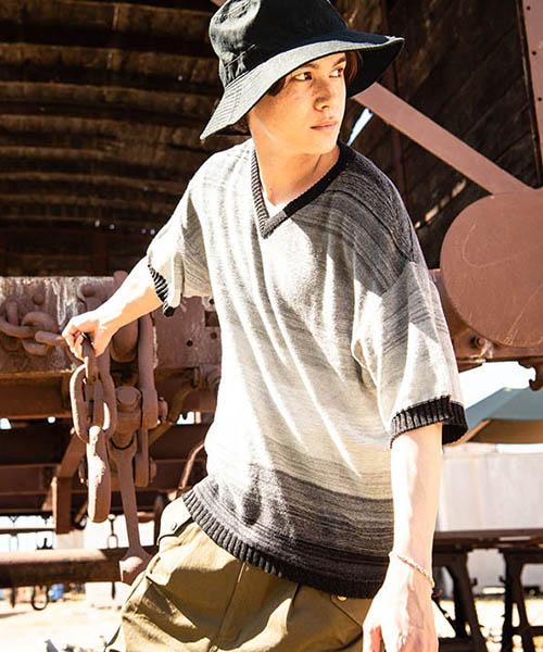 【glamb(グラム)】【予約販売6月上~中旬入荷】 Sunset knit サンセットニット(GB0219-KNT07)