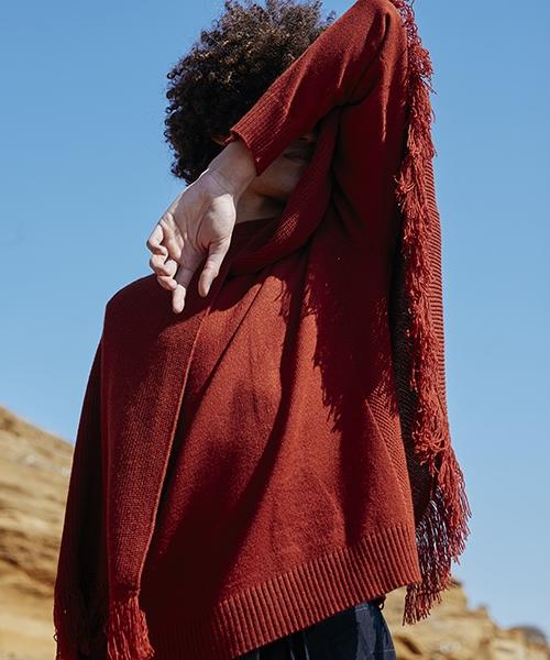 【MIHARAYASUHIRO】【予約販売8月入荷予定】Fringe Knit Pullover プルオーバー(F03PO081)