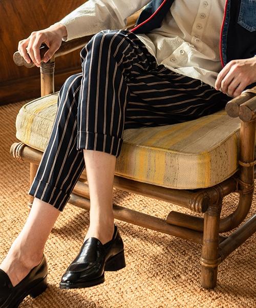 【glamb(グラム)】【予約販売4月下~5月上旬入荷】 Bellman cropped pants ベルマンクロップドパンツ(GB0219-P04)