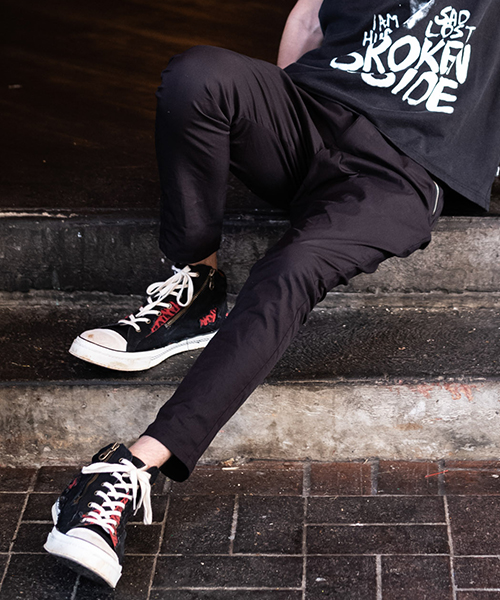 【glamb(グラム)】【予約販売7月上~中旬入荷】 Bren easy pants ブレンイージーパンツ(GB0219-P12)